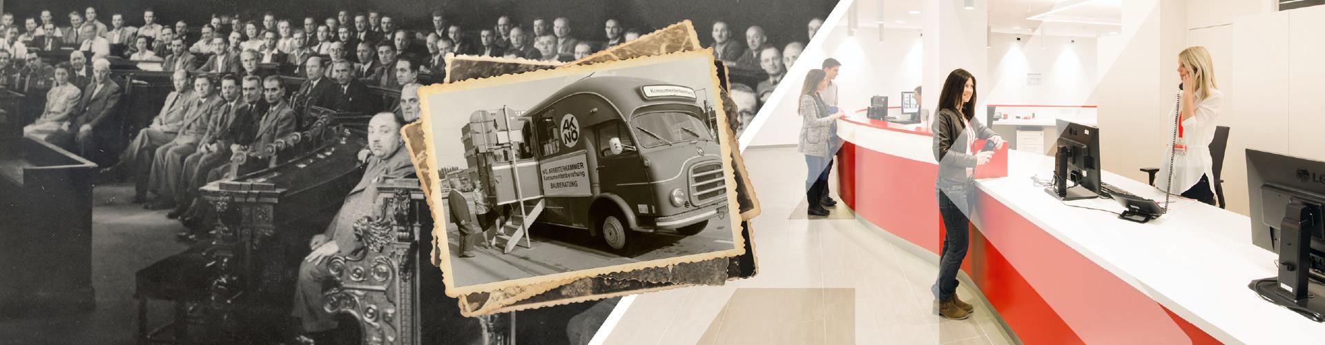 70 Jahre AK Niederösterreich © Mario Scheichel (rechtes Bild), AK Niederösterreich