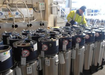 Die MitarbeiterInnen der Firma Air Liquide sind gerade jetzt voll im Einsatz, damit während der Coronakrise genügend medizinischer Sauerstoff vorhanden ist. ©  , AK Niederösterreich, zVg