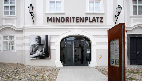 Außenansicht des Gebäudes © Christian Redtenbacher, Forum Frohner