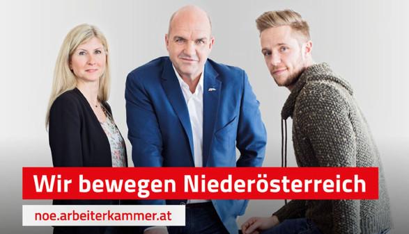 AK-ExpertInnen mit AK-Präsident Markus Wieser © Vyhnalek, AK Niederösterreich
