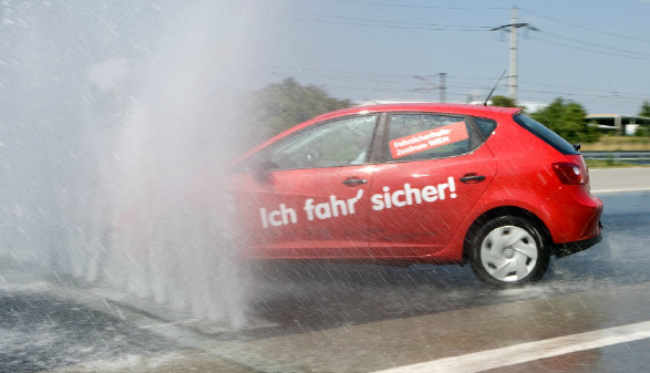 Auto während Training © ARBÖ, ARBÖ zVg.