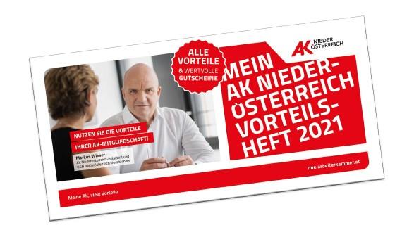 Vorteilsheft 2021 © Claudia Rauch-Gessl, AK Niederösterreich