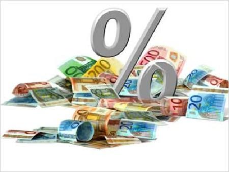 Symbol Prozentsatz Geld © K.-U. Häßler, Fotolia.com