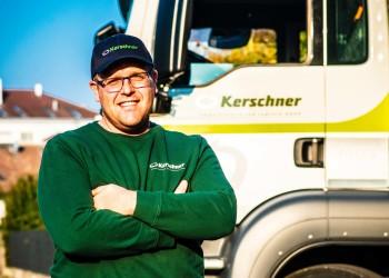 Das ist Reinhard L. Reinhard räumt deinen Dreck weg © M. Scheichl, AK Niederösterreich