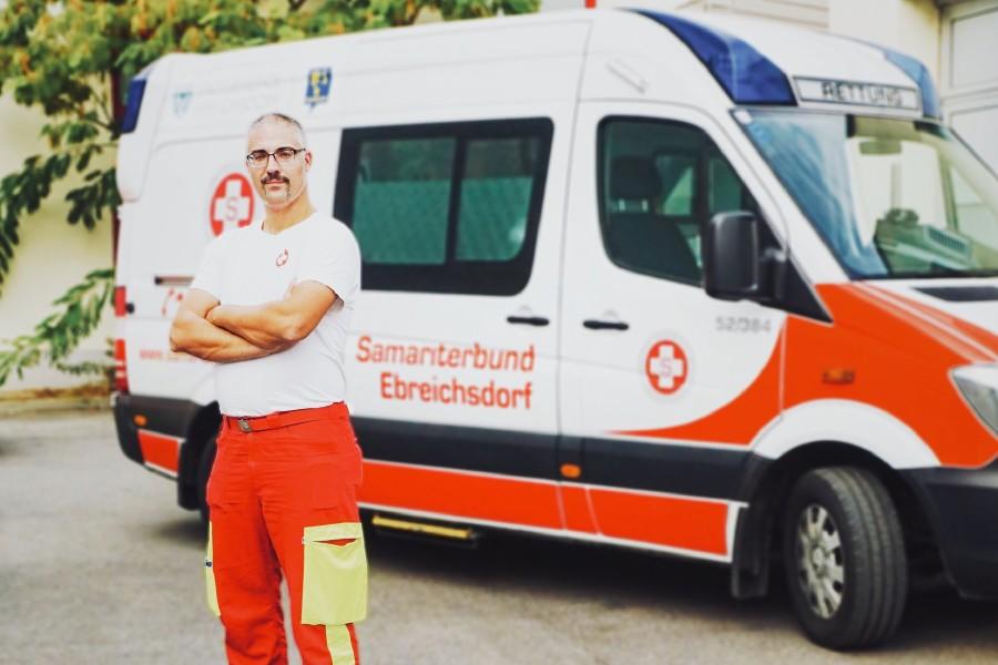 Sanitäter © Wilczek, AK Niederösterreich