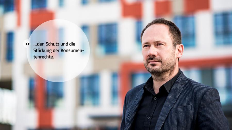 Wir stehen für den Schutz und die Stärkung der Konsumentenrechte. © Mario Scheichel, AK Niederösterreich