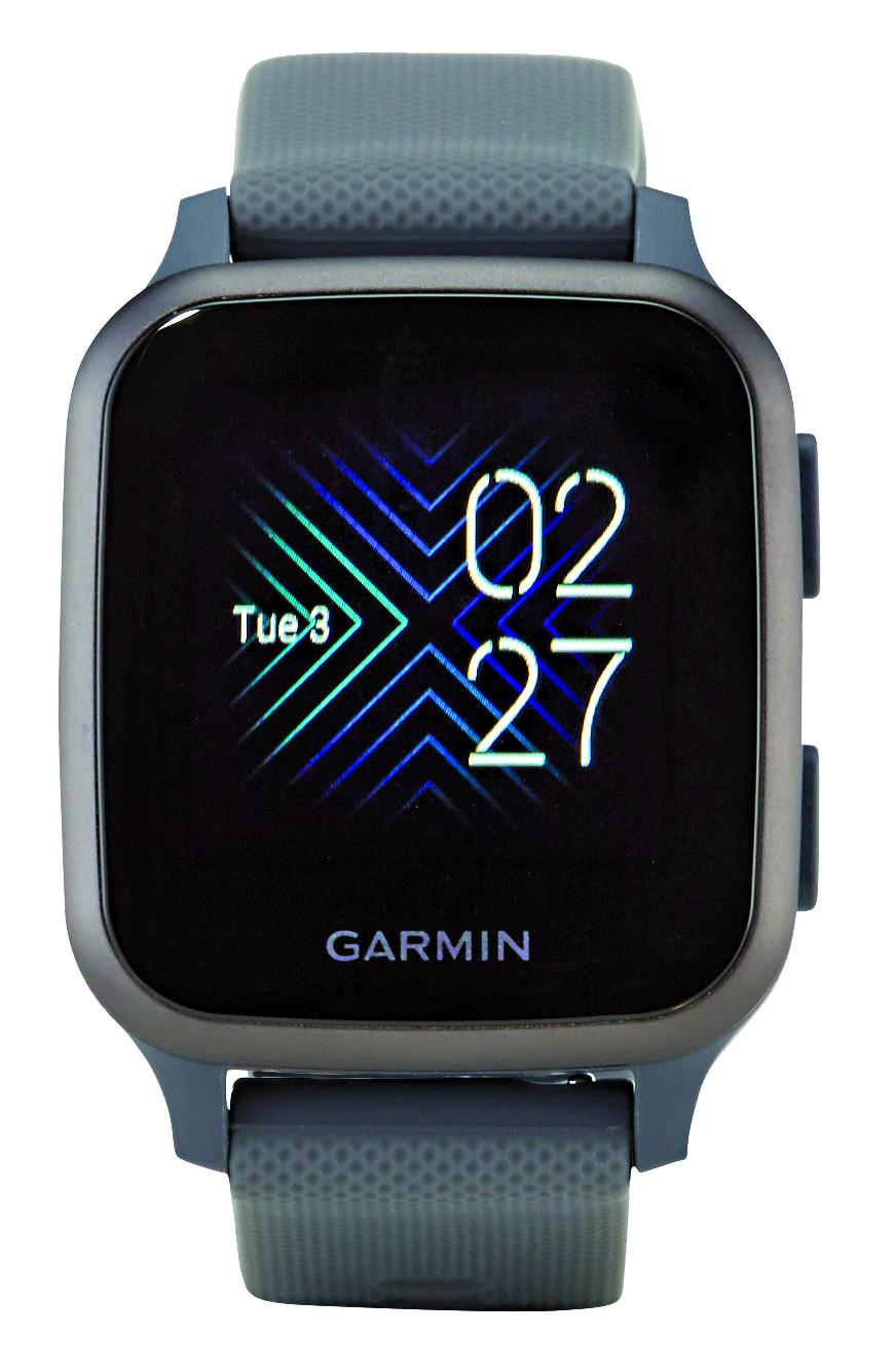 Smartwatch Modell Venu Sq der Firma Garmin ©  , Stiftung Warentest