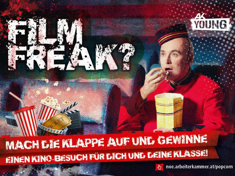Film Freak? © AK Niederösterreich, AK Young
