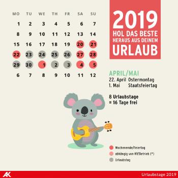 April und Mai 2019 ©  , AK Niederösterreich
