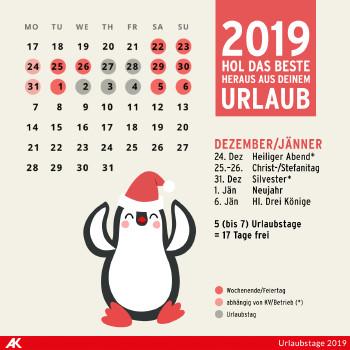 Dezember 2018 und Jänner 2019 ©  , AK Niederösterreich