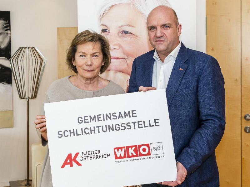 Sonja Zwazl und Markus Wieser © David Schreiber, AK & WK