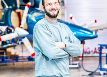 Luftfahrzeugmechaniker Thomas © Mario Scheichel, AK Niederösterreich