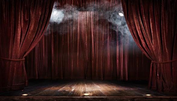Leere Bühne im Scheinwerferlicht © vitaliy_melnik, stock
