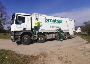 Die MitarbeiterInnen der Kremser Firma Brantner schauen darauf, dass unser Müll auch während der Coronakrise entsorgt wird. ©  , AK Niederösterreich, zVg