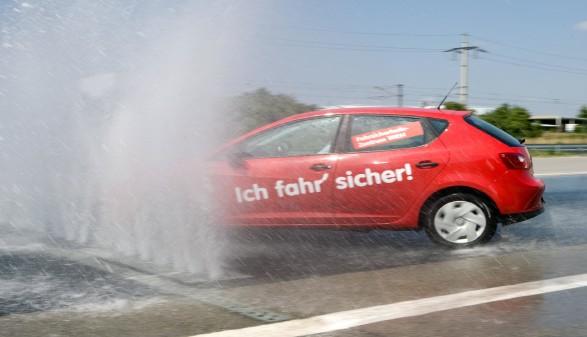 Auto beim Fahrsicherheitstraining © ARBOe, ARBOe