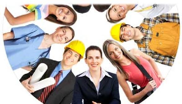 ArbeitnehmerInnen verschiedenster Berufssparten © Kurhan, Fotolia.com