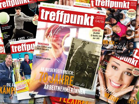 Cover des AK Mitglieder-Magazin © AK Niederösterreich