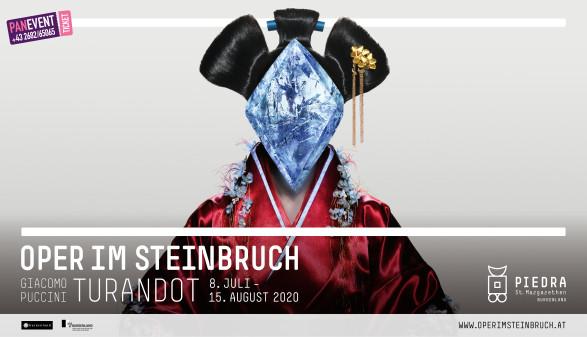 """Foto der Oper """"Turandot"""" © Montage, Oper im Steinbruch St. Margarethen"""