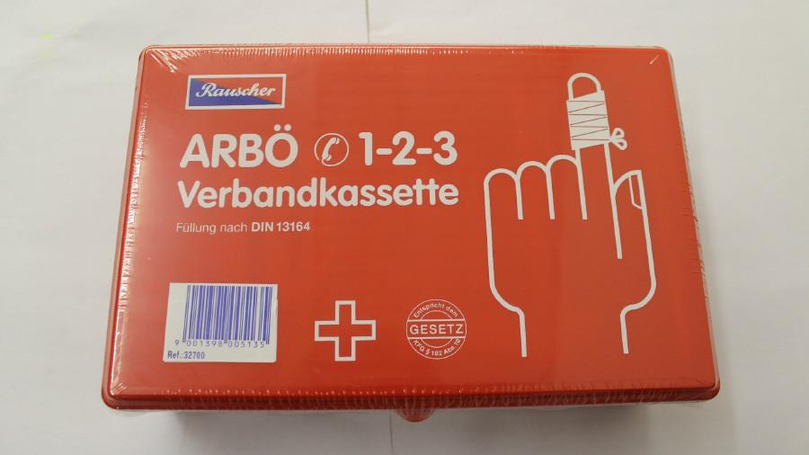 ARBÖ Verbandkassette © ARBÖ, ARBÖ zVg.