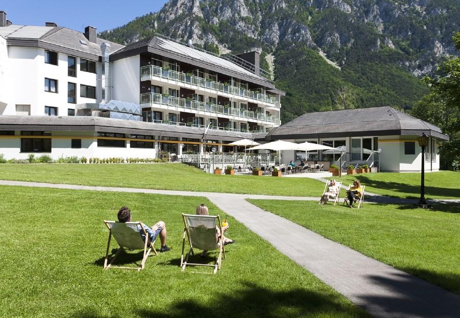Das Seminarparkhotel Hirschwang am Fuße der Rax. © zVg, Seminarparkhotel Hirschwang