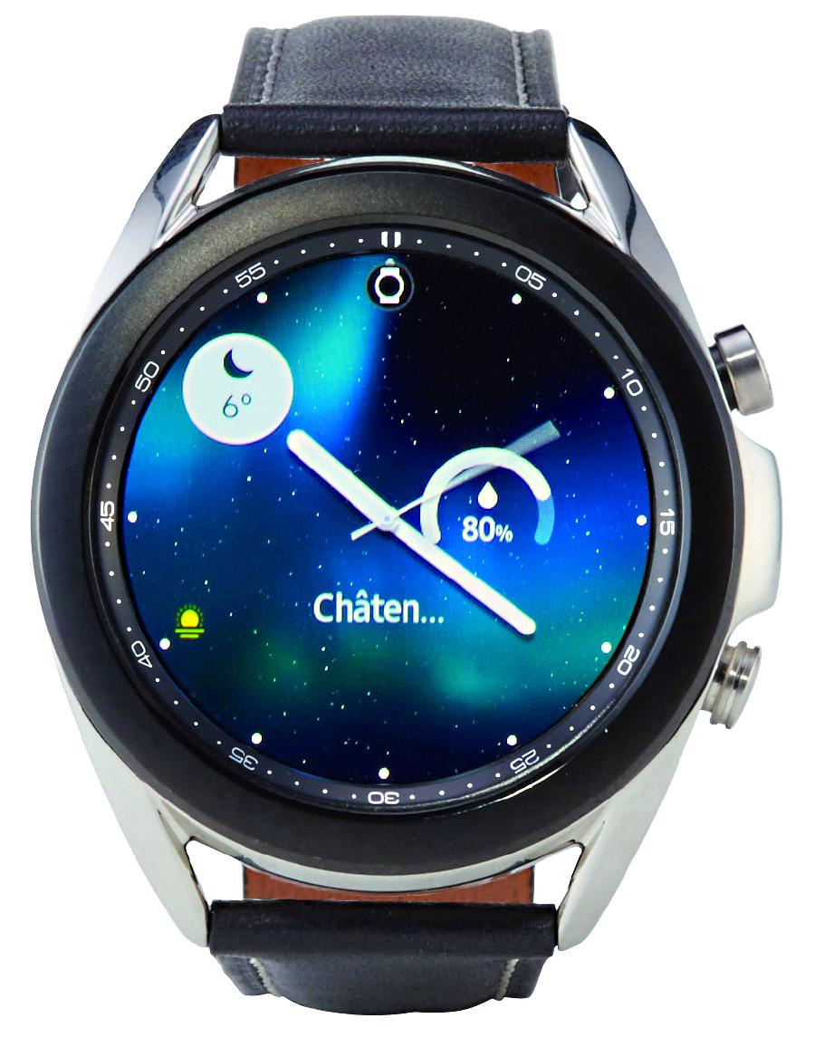 Smartwatch Samsung Galaxy Watch 3 ©  , Stiftung Warentest
