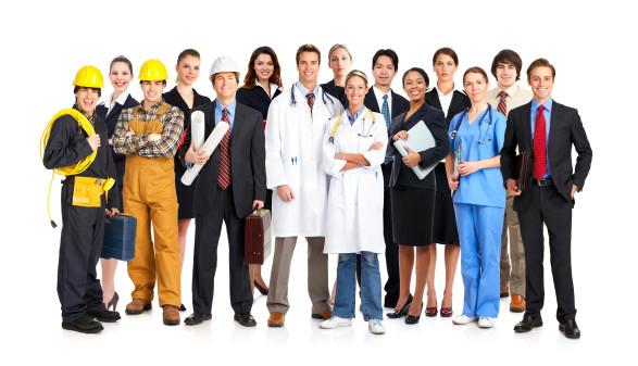 Menschen mit verschiedenen Berufen © Kurhan, stock.adobe.com