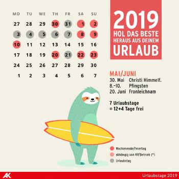 Mai und Juni 2019 ©  , AK Niederösterreich