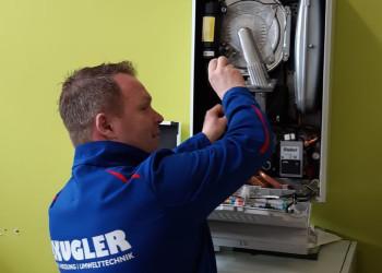 Markus Zehethofer ist bei der Firma Kugler aus Krems unter anderem für Thermeninstandhaltungen zuständig. ©  , AK Niederösterreich, zVg