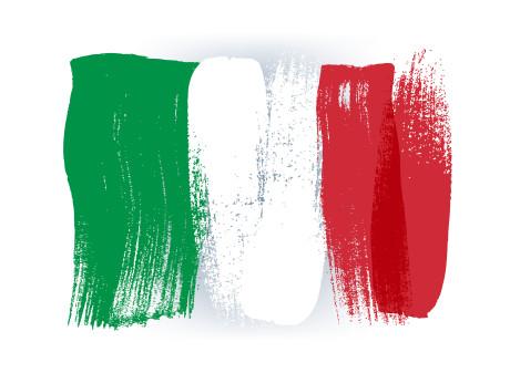 Italienische Flagge © rea_molko, stock.adobe.com