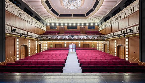Sicht von Bühne © Bruno Klomfar, Theater Akzent