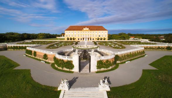 Aussenansicht auf Schloss © Harald Boehm, Schloss Hof