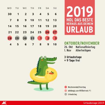 Oktober und November 2019 ©  , AK Niederösterreich
