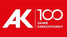 Logo: AK 100 Jahre Gerechtigkeit © AK