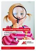 Institutionelle Kinderbetreuung in NÖ © -, AK Niederösterreich
