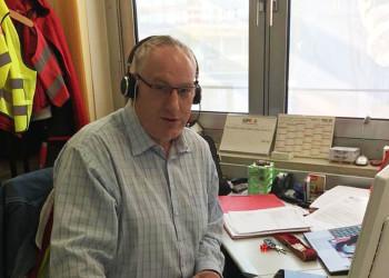 ÖGB Regionalsekretär Helmut Novak steht den ArbeitnehmerInnen seiner Region Mostviertel-Eisenstraße auch zu Coronazeiten tatkräftig zur Verfügung. ©  , AK Niederösterreich, zVg