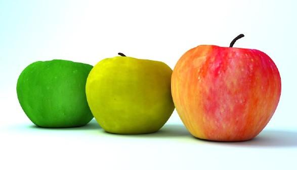 Drei Äpfel © vitdzu, stock.adobe.com