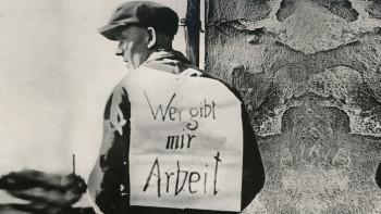 Wer gibt mir Arbeit © Unbekannt, AK Niederösterreich
