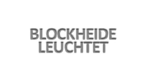 Logo © Blockheide leuchtet