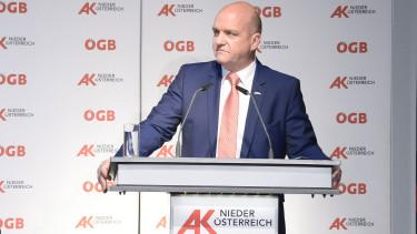 AK Präsident Markus Wieser redet bei der Vollversammlung im Mai 2019 © A. Kromus, AK Niederösterreich