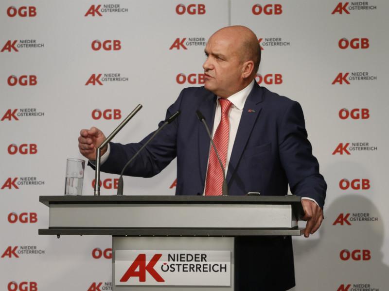 AK Niederösterreich-Präsident Markus Wieser © Mannsberger, AK Niederösterreich