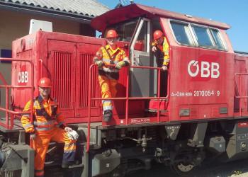 Die MitarbeiterInnen der ÖBB schauen darauf, dass wir weiterhin mit Zügen fahren können. ©  , AK Niederösterreich, zVg
