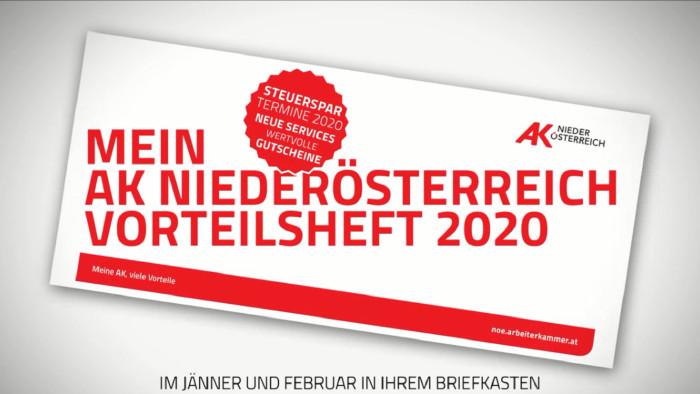 AK-Vorteilsheft 2020 © Claudia Rauch-Gessl, AK Niederösterreich