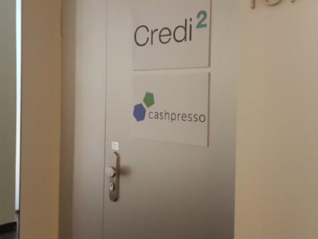 Eingangstüre Cashpresso © F. Mader, AK