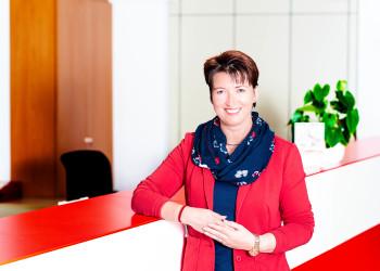 Bezirksstellenleiterin Mödling Susanna Stangl © Scheichel, AK Niederösterreich