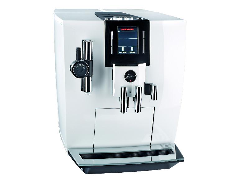 Kaffeevollautomat von Jura © Stiftung Warentest, VKI