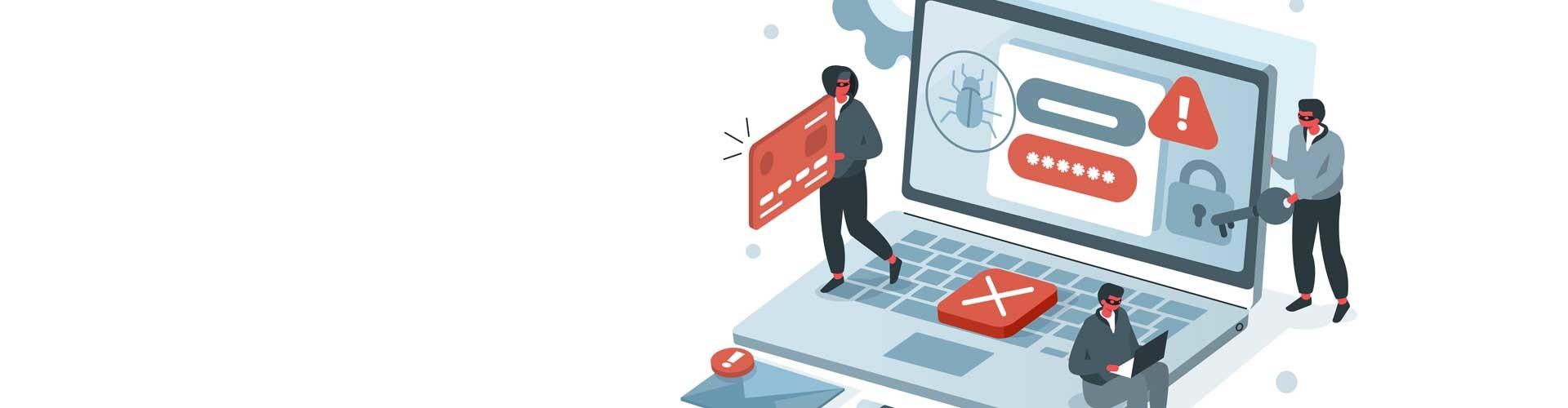 Computergrafik zur digitalen Sicherheit © Irina Strelnikova, Adobe Stock
