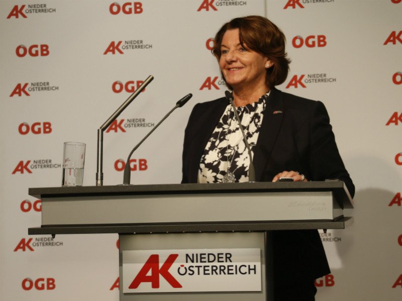 Vizepräsidentin Gerda Schilcher © H. Mannsberger, AK