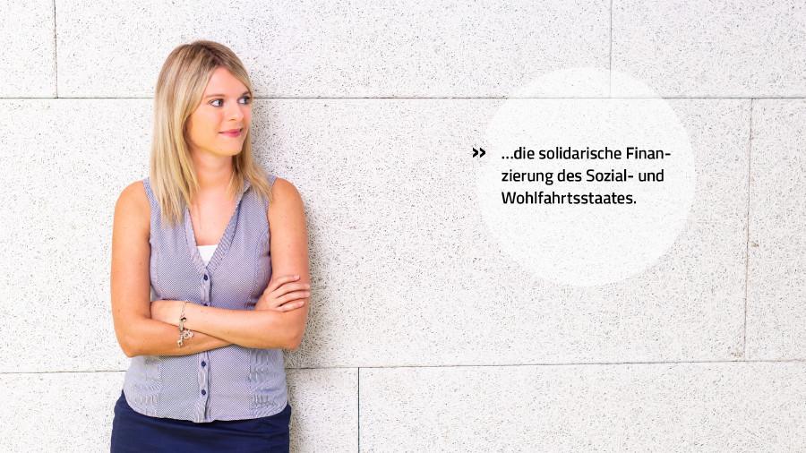 Wir stehen für die solidarische Finanzierung des Sozial- und Wohlfahrtsstaates.  © Mario Scheichel, AK Niederösterreich