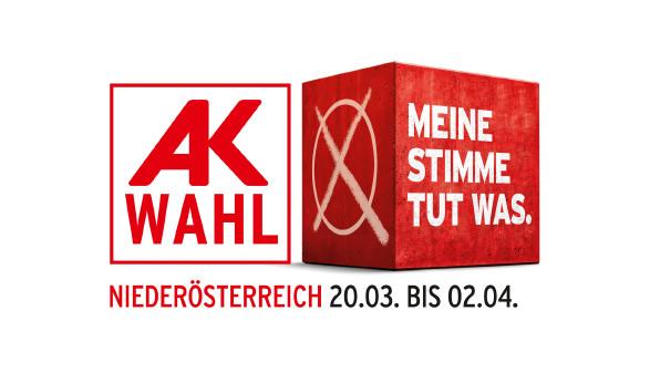 Logo AK Wahl 2019 © Grafik, AK Niederösterreich