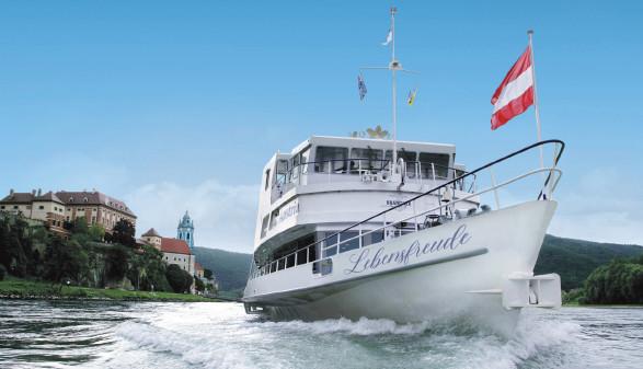 Blick auf MS Austria ©  , BRANDNER Schiffahrt GmbH